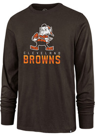 Cleveland Browns 47 Legacy Super Rival T Shirt - Brown