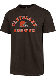 Cleveland Browns 47 Varsity Arch Club T Shirt - Brown