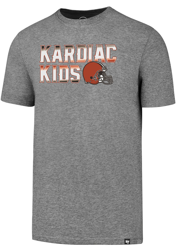 Cleveland Browns 47 Regional Club T Shirt - Grey