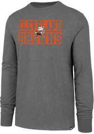 47 Cleveland Browns Grey Block Club Tee