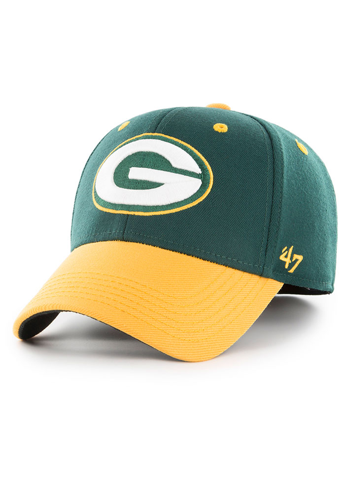 47 Green Bay Packers Green 2T Kickoff Contender Flex Hat