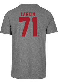 Dylan Larkin Detroit Red Wings 47 Most Valuable Player T-Shirt - Grey