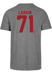 Dylan Larkin Detroit Red Wings Grey Most Valuable Player Short Sleeve Fashion Player T Shirt