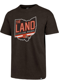 Cleveland Browns 47 Regional Club T Shirt - Brown