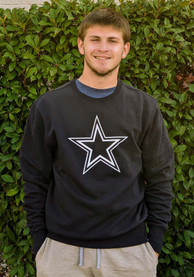 Dallas Cowboys 47 Imprint Headline Crew Sweatshirt - Navy Blue