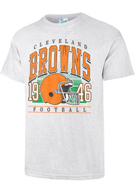 47 Cleveland Browns Grey Field General Fashion Tee