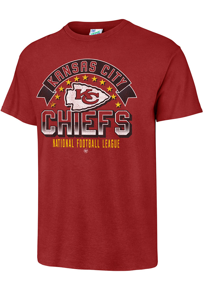 47 Kansas City Chiefs Red Show Stopper Fashion Tee