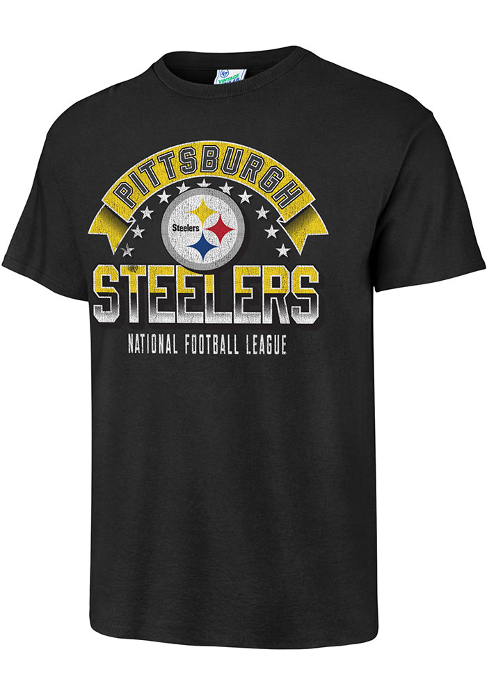 47 Pittsburgh Steelers Black Show Stopper Fashion Tee