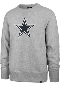 Dallas Cowboys 47 Imprint Headline Crew Sweatshirt - Grey