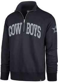 Dallas Cowboys 47 Upstate Striker 1/4 Zip Fashion - Navy Blue