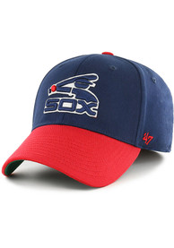 Chicago White Sox 47 2T Poplar Contender Flex Hat - Navy Blue