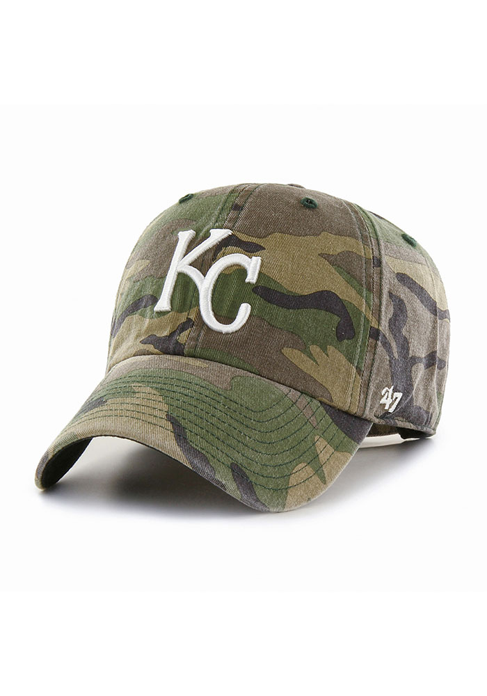 Kansas City Royals 47 Clean Up Adjustable Hat - Green
