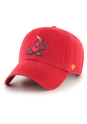 St Louis Cardinals 47 Retro Clean Up Adjustable Hat - Red