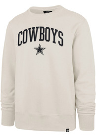 Dallas Cowboys 47 Arch Gamebreak Fashion Sweatshirt - Tan