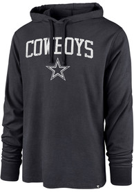 Dallas Cowboys 47 Power Up Club Hood Hooded Sweatshirt - Navy Blue
