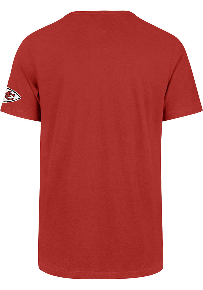 47 Kansas City Chiefs Red Two Peat Super Rival Short Sleeve T Shirt - Image 2