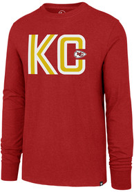 buy popular 6de2f 573ec '47 Kansas City Chiefs Red Regional Club Tee