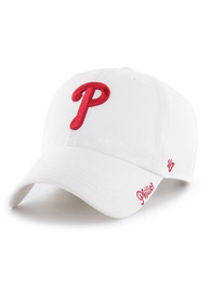 '47 Philadelphia Phillies Womens White Miata Clean Up Adjustable Hat