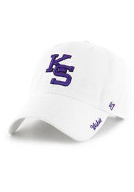 K-State Wildcats Womens 47 Miata Clean Up Adjustable - White
