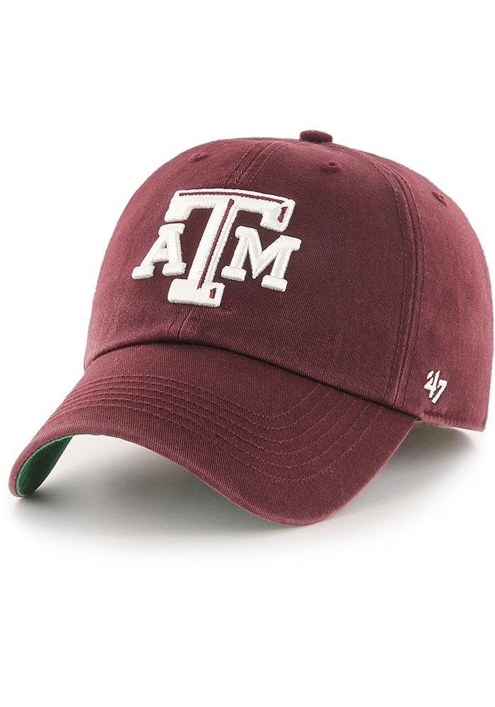 Texas A&M Aggies '47 Maroon Franchise Fitted Hat