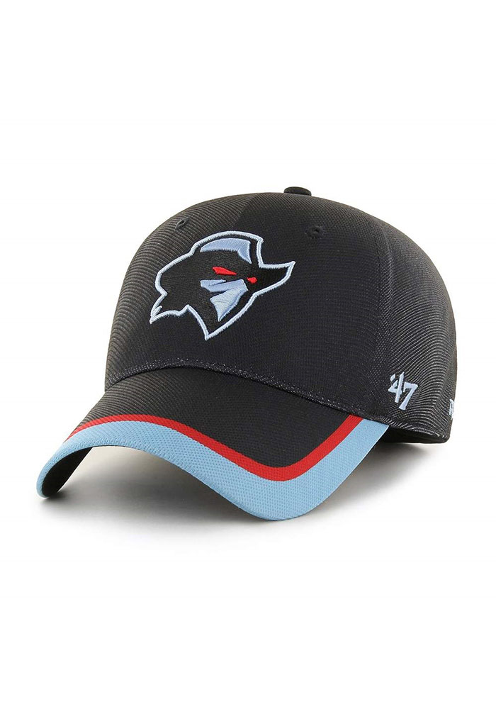 47 Dallas Renegades Mens Black XFL 2020 Sideline Solo Flex Hat - Image 1
