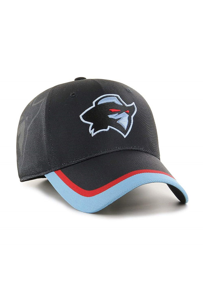 47 Dallas Renegades Mens Black XFL 2020 Sideline Solo Flex Hat - Image 2