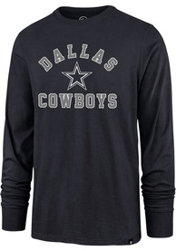 Dallas Cowboys 47 Varsity Arch T Shirt - Navy Blue