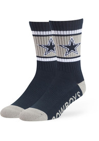 Dallas Cowboys 47 Duster Sport Crew Socks - Navy Blue
