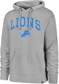 Detroit Lions 47 Pinnacle Striker Fashion Hood - Grey