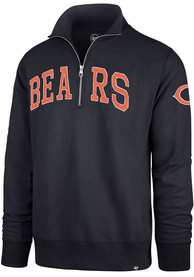Chicago Bears 47 Upstate Striker 1/4 Zip Fashion - Navy Blue