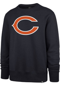Chicago Bears 47 Imprint Headline Crew Sweatshirt - Navy Blue