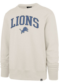 Detroit Lions 47 Arch Gamebreak Crew Sweatshirt - Tan