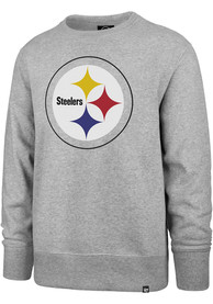 Pittsburgh Steelers 47 Imprint Headline Crew Sweatshirt - Grey