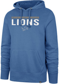 Detroit Lions 47 Power Luck Headline Hooded Sweatshirt - Blue