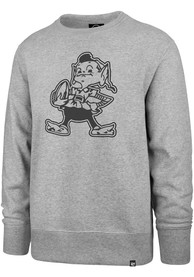Cleveland Browns 47 Pop Imprint Headline Crew Sweatshirt - Grey