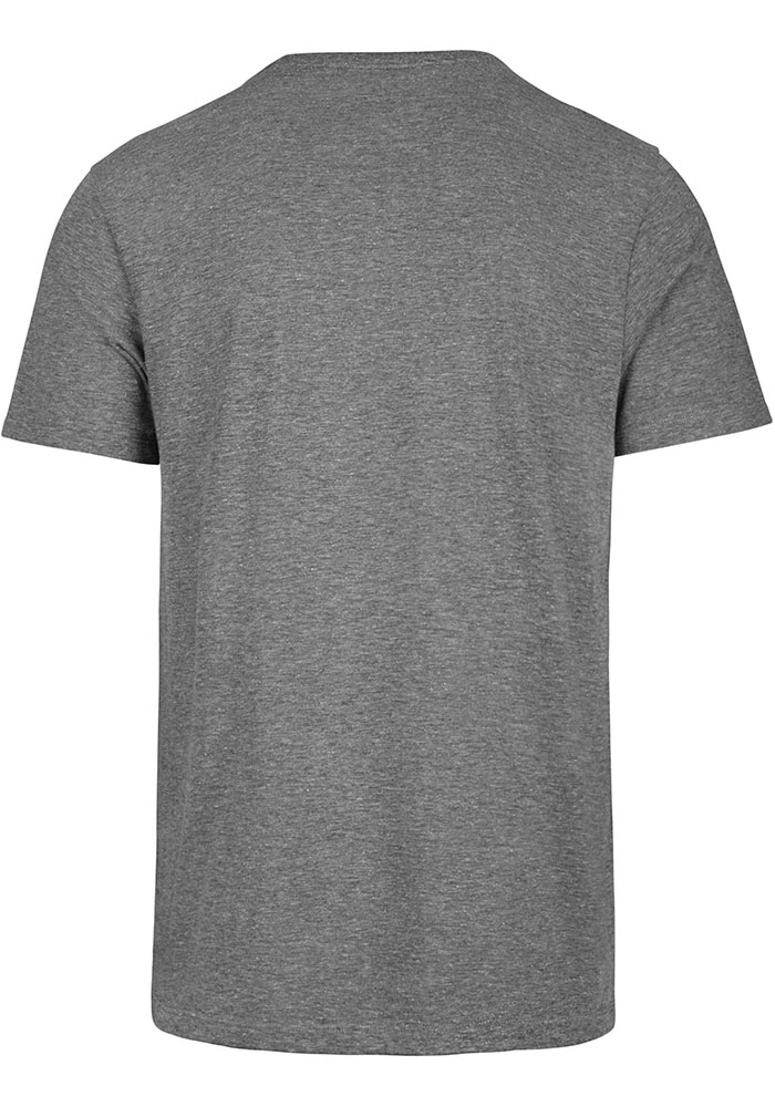 47 Detroit Red Wings Grey Circle Match Triblend Short Sleeve Fashion T Shirt - Image 2
