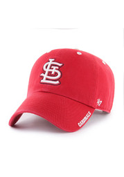 '47 St Louis Cardinals Ice Clean Up Adjustable Hat - Red