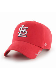 '47 St Louis Cardinals Womens Red Miata Clean Up Adjustable Hat
