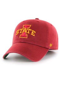 Iowa State Cyclones '47 Red Franchise Fitted Hat