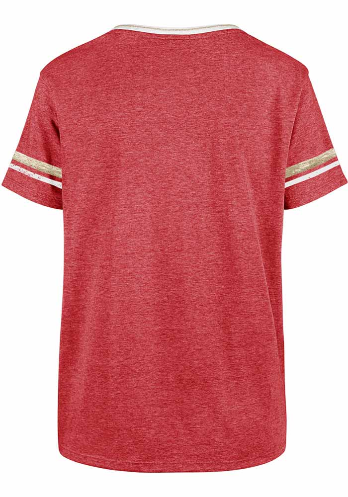47 Kansas City Chiefs Womens Piper Short Sleeve T-Shirt - Image 2
