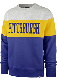 '47 Pitt Panthers Blue Interstate Fashion Sweatshirt