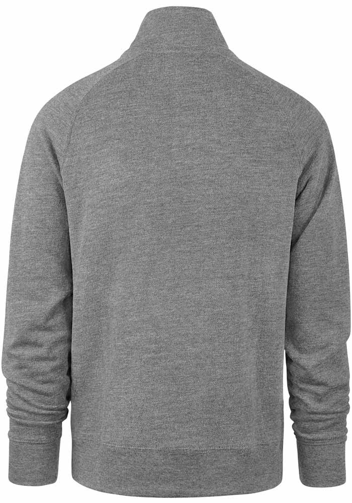 47 Michigan State Spartans Mens Grey Premier Match Long Sleeve 1/4 Zip Pullover - Image 2