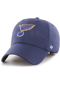 47 St Louis Blues Repetition Clean Up Adjustable Hat - Navy Blue