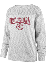 Oklahoma Sooners Womens 47 White Out Crew Sweatshirt -