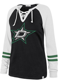 '47 Dallas Stars Womens Full Time Black LS Tee