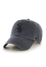 Chicago White Sox 47 Clean Up Adjustable Hat - Charcoal