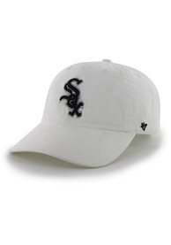 Chicago White Sox 47 Clean Up Adjustable Hat - White