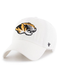 Missouri Tigers 47 Clean Up Adjustable Hat - White