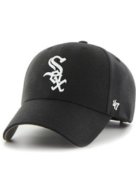 Chicago White Sox 47 MVP Adjustable Hat - Black