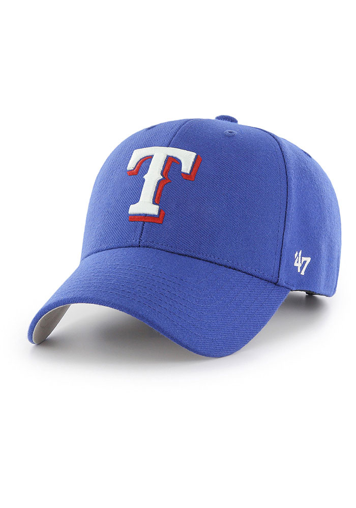 47 Texas Rangers MVP Adjustable Hat - Blue - Image 1